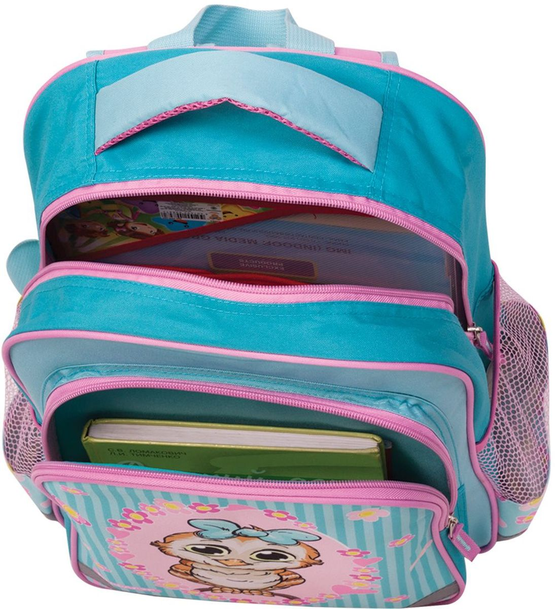 Предназначен для девочек 7-10 лет. Яркий дизайн этого рюкзака вкупе с красочным оригинальным принтом, были продуманы до мелочей, чтобы удовлетворить вкусы современных маленьких модниц. Вместительность рюкзака позволит иметь под рукой все необходимое.•1 отделение, 3 кармана. •Формоустойчивая спинка. •Широкие регулируемые лямки. •Светоотражающие элементы. •Размер: 38 х 28 х 14 см. •Объем: 15 л. •Вес: 0,39 кг.