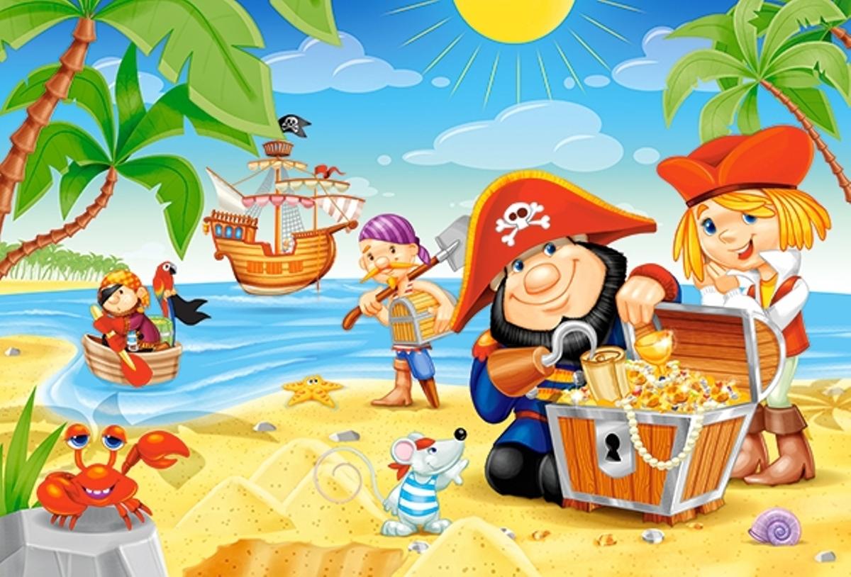 Картинках ответами, картинки на пиратскую тему для детей