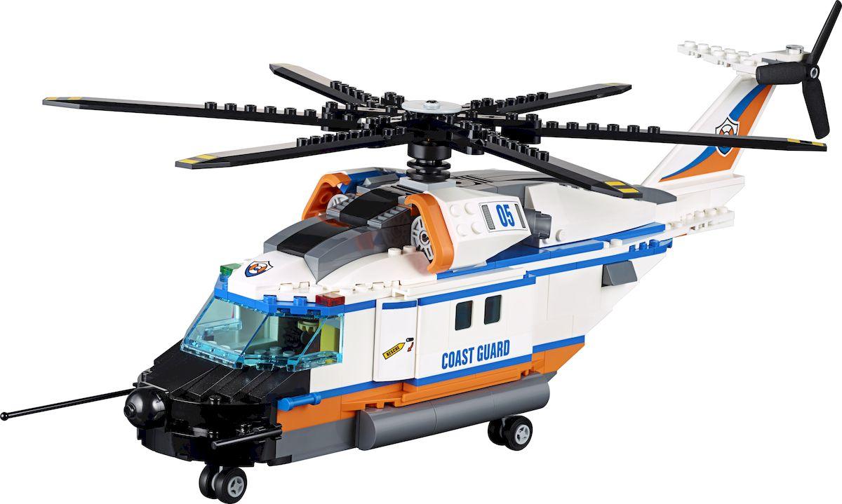 LEGO City Coast GuardКонструктор Сверхмощный спасательный вертолет 60166 LEGO
