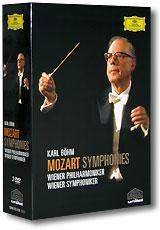 Karl Bohm. Mozart - Symphonies. Wiener Philharmoniker / Symphoniker (3 DVD)