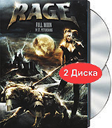 Rage: Full Moon in St. Petersburg (DVD + CD) accept accept blind rage limited edition cd blu ray dvd 2 lp