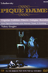 The Queen Of Spades: Herman: Gegam Grigorian  Liza: Maria Gulegina     Countess: Ludmila Filatova Count Tomsky:  Sergei LeiferkusPrince Yeletsky: Alexander GergalovPauline: Olga BorodinaKirov Orchestra, Opera Chorus and Ballet, St Petersburg Valery Gergiev. Valery Gergiev directs the Kirov Opera with characteristic dynamism in Tchaikovsky's gripping masterpiece, where Rococo pastiche contrasts dramatically with the dark and mysterious music that charts the tragic fate of the three main characters.