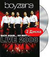 Boyzone: Back Again...No Matter What (2 DVD) ravensburger маки тосканы пазл триптих 1000 элементов