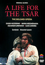 The setting for A Life for the Tsar'is Russia and a Polish camp in 1613. Following the Russian revolution, the Communist regime renamed this intrinsically Russian opera after the main character, Ivan Susanin. The emphasis was then changed from the peasant's life given to save the Tsar for the Russian people, to the idea of Susanin delivering Russia when threatened with attack from the Polish enemy. The original title and libretto have now been restored. Russian bass, Evgeny Nesterenko magnificently sings the dramatic role of Ivan Susanin, the tragic hero who leads the Polish enemy on a false path in their search for the Tsar, thereby permitting the Tsar's escape.Music - Mikhail Glinka Libretto - Yegor Rozen & Vasily ZhukovskyProducer - Nicolai Kuznetsov Designer - Valery LeventalDirected For Video By Derek BaileyProduced For Video By Robin ScottIvan Susanin - Evgeny Nesterenko Antonida - Marina Mescheriakova Sobinin - Alexander Lomonosov Vanja - Elena ZarembaPolish Commander - Boris BezhkoThe Bolshoi Symphony Orchestra And Chorus Conductor Alexander Lazarev