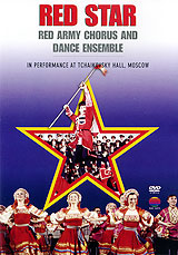 This concert, given by the magnificent Russian troupe, the Red Star Red Army Chorus and Dance Ensemble, was recorded at the Tchaikovsky Hall in Moscow prior to a nationwide tour of the United States in the autumn of 1992. The 100-strong Ensemble was first formed within the USSR armed forces in 1977, performing concerts primarily for the army. Their repertoire ranges from popular folk tunes and songs of battle from all corners of the former Soviet Union to spectacular Cossack dancing and includes Glinka's Patriotic Song and Kamarinskaya, Rimsky-Korsakov's Flight of the Bumblebee, and folk songs Kalinka, Dark Eyes, A Birch Tree Stood in the Meadow, Happy Girl and Seven Sons-in-Law. All are performed with energy, enthusiasm and patriotic fervor.    Patriotic Song Meadowland Regimental Polka Cossacks' Dance Paganini Variations The Swallow Dark Eyes Russian Dance Volga Boat SongKamarinskaya A Birch Tree Stood in the MeadowThe Sun Set Behind a Mountain Sailors' Dance The Flight of the Bumblebee Song of a Flea Happy Girl Seven Sons-in-Law Hopak Dance Moscow Nights Kalinka On the March. Artistic Director: Colonel Anatoly Bazhalkin