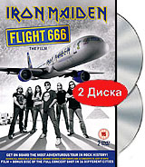 Iron Maiden - Flight 666 / The Film (2 DVD) the flight of icarus