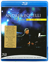 Andrea Bocelli: Vivere - Live In Tuscany (Blu-ray) il divo live in london blu ray