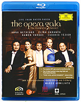 The Opera Gala: Live From Baden-Baden (Blu-ray) the berlin concert domingo netrebko villazon blu ray