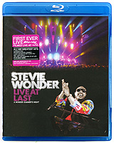 Stevie Wonder: Live At Last (Blu-ray) francis rossi live from st luke s london blu ray