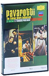 Luciano Pavarotti: The Italian Opera Collection (3 DVD) лучано паваротти pavarotti 101 pavarotti 6 cd