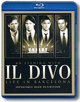 An Evening With Il Divo: Live In Barcelona (Blu-ray) il divo live in london blu ray