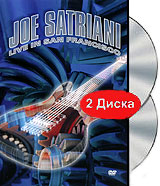 Joe Satriani: Live In San Francisco (2 DVD) dvd диск igor moisseiev ballet live in paris 1 dvd