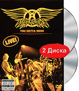 Aerosmith: You Gotta Move (DVD + CD) aerosmith devil s got a new disguise – the very best of aerosmith cd