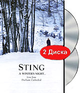 Sting: A Winter's Night... Live From Durham Cathedral (2 DVD) sting sting the complete studio collection 16 lp