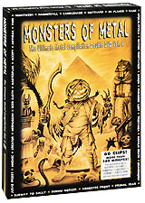 Various Artists: Monsters of Metal - The Ultimate Metal Compilation Vol. 4 (2 DVD) of monsters and men of monsters and men beneath the skin 2 lp