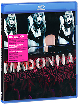Madonna: Sticky & Sweet Tour (Blu-ray + CD) madonna the confessions tour