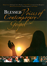 Various Artist: Blessed: Voices Of Contemporary Gospel voices in the dark
