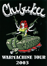 Chibuku: Warmachine Tour 2003 игрушки животные tour the world schleich