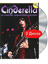 Cinderella: In Concert Remastered Edition (DVD + CD) cd queen a night at the opera 2011 remastered