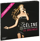 Celine Dion: La Tournee Mondiale Taking Chances - Le Spectacle (DVD + CD) celine dion through the eyes of the world blu ray