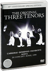 Фото The Original Three Tenors (DVD + CD). Покупайте с доставкой по России