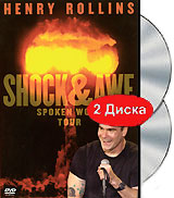 Henry Rollins: Shock And Awe (DVD + CD) united colors of benetton united colors of benetton un012egivq61