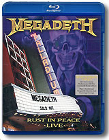 Megadeth Rust In Peace Live (Blu-ray) il divo live in london blu ray