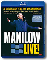 Barry Manilow: Manilow Live! (Blu-ray) the tribute to pavarotti one amazing weekend in petra blu ray