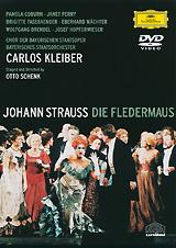 Tracklist: 01. Opening Credits         02. Ouverture - Ballett Der Bayerischen Staatsoper                Act I        03. No. 1 Introduction: «Taubchen, Das Entflattert Ist»         04. «Adele, Was Ist Denn Schon Wieder?»         05. No. 2 Terzett: «Nein, Mit Solchen Advokaten»         06. No. 3 Duett: «Komm Mit Mir Zum Souper»         07. No. 4 Terzett: «So Muss Allein Ich Bleiben»         08. No. 5 Finale I: «Trinke, Liebchen, Trinke Schnell»         09. «Ich Hore Stimmen»         10. «Mein Herr, Was Dachten Sie Von Mir»         11. «Mein Schones, Groses Vogelhaus»                 Act II         12. No. 6 Introduction: «Ein Souper Heut Uns Winkt»         13. No. 7 Couplet: «Ich Lade Gern Mir Gaste Ein»         14. No. 8 Ensemble Und Couplet: «Ach, Meine Herr'n Und Damen»         15. «Mein Herr Marquis»         16. No. 9 Duett: «Dieser Anstand, So Manierlich»         17. No. 10 Csardas: «Klange Der Heimat»        18. No. 11 Finale II: «Im Feuerstrom Der Reben»         19. «Herr Chevalier, Ich Gruse Sie!»         20. «Bruderlein Und Schwesterlein»         21. «Unter Donner Und Blitz Op. 324»         22. «Genug Damit, Genug!»                 Act III         23. No. 12 Entr'acte         24. «Taubchen, Das Entflattert Ist...» - «Ruhe!»         25. No. 13 Melodram: «Die Mongolen Sagen»         26. No. 14 Couplet: «Spiel' Ich Die Unschuld Vom Lande»         27. «Chappi!» – «Ja, Franzl, Was Machst Denn Du Da?»         28. No. 15 Terzett: «Ich Stehe Voll Zagen»         29. No. 16 Finale III: «O Fledermaus, O Fledermaus»