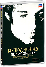 Beethoven, Vladimir Ashkenazy: The Piano Concertos (2 DVD)