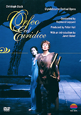 British mezzo-soprano, Dame Janet Baker, chose to retire from the operatic stage singing the title role in Sir Peter Hall's acclaimed production of Orfeo ed Euridice. This 1982 recording from Glyndebourne, where Dame Janet's appropriately began her professional career, proved a suitable crowning glory to the career of one of the great singing actresses of our age. Dame Janet's realisation of Orfeo, the grieving musician from Greek mythology, who follows his beloved wife Euridice to the depths of Hades in an attempt to bring her back from the dead, is totally convincing -
