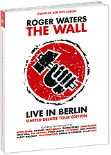 Roger Waters: The Wall Live In Berlin - Limited Deluxe Tour Edition (DVD + 2 CD) кепка vans off the wall