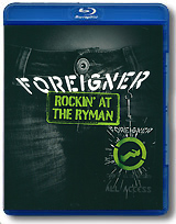 Foreigner: Rockin' At The Ryman (Blu-ray) foreigner live in chicago blu ray
