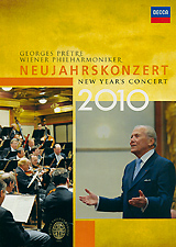 Georges Pretre, Wiener Philharmoniker: New Year's Concert 2010 barenboim daniel wiener philharmoniker new year s concert 2009 blu ray