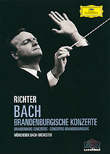 Bach, Karl Richter: Brandenburg Concertos major ii brown