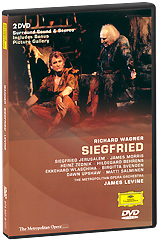 Wagner, James Levine: Siegfried (2 DVD) the food of the gods