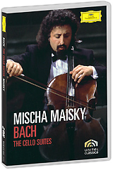 Bach, Mischa Maisky: The Cello Suites (2 DVD)