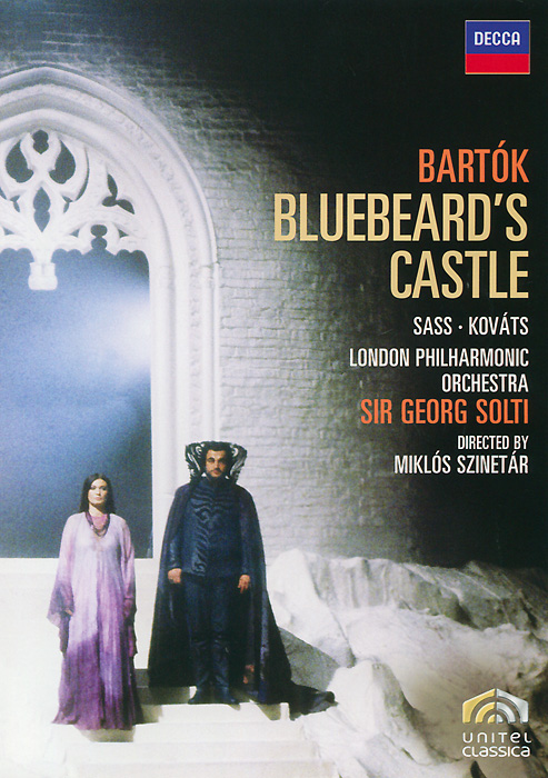 The great Georg Solti conducts a spectacular studio production of this masterpiece of 20th-century opera. Two internationally celebrated Hungarian opera stars perform Bartok's darkly psychological parable with searing dramatic intensity. Bluebeard - Kolos Kovats Judith - Sylvia Sass