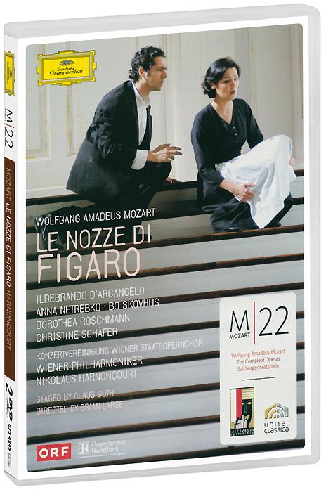 Mozart, Nicolaus Harnoncourt: Le Nozze Di Figaro (2 DVD)