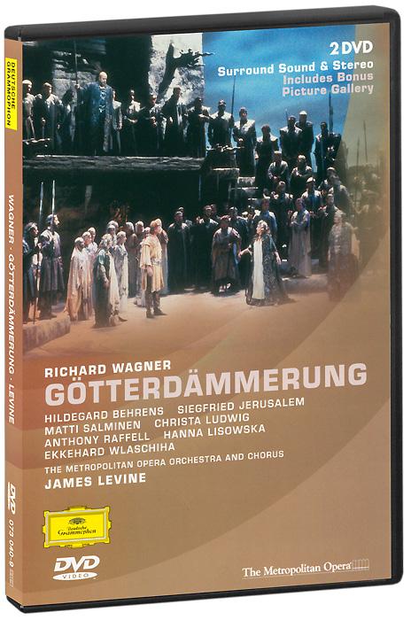 Wagner, James Levine: Gotterdammerung (2 DVD) wagner james levine das rheingold