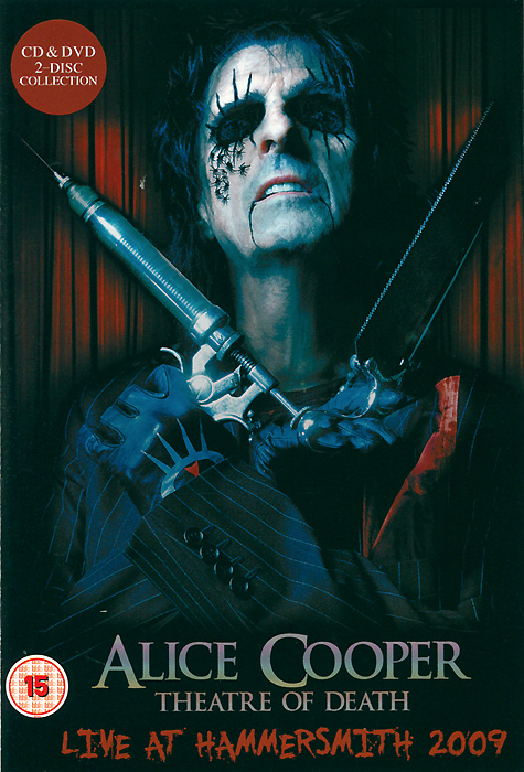 Alice Cooper: Theatre Of Death - Live At Hammersmith 2009 (DVD + CD) alice domurat dreger hermaphrodites & the medical invention of sex