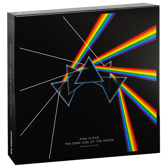 Pink Floyd. The Dark Side Of The Moon. Collector's Edition (2 DVD+ Blu-Ray + 3 CD) купить