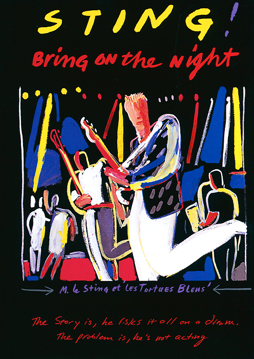Always expanding the boundaries of pop music, in 1985, Sting embarked on his ambitious, first solo tour. Twenty years later and for the first time on DVD, the film Bring On The Night a brought to new life with a high-definition digital anamorphic picture transfer and digitally remastered surround audio. Originally capturing this historic event on film, critically acclaimed director Michael Apted (Coal Miner's Daughter, Gorillas In The Mist) documented the formation of