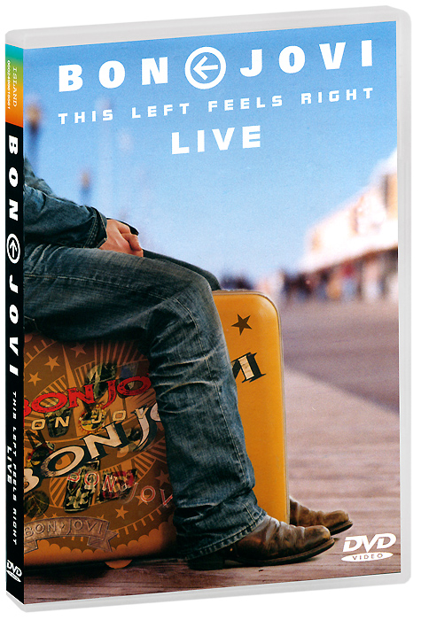 Bon Jovi: This Left Feels Right Live (2 DVD) bon jovi 11cd 1dvd box set complete collection special edition music cd boxset brand new freeshipping