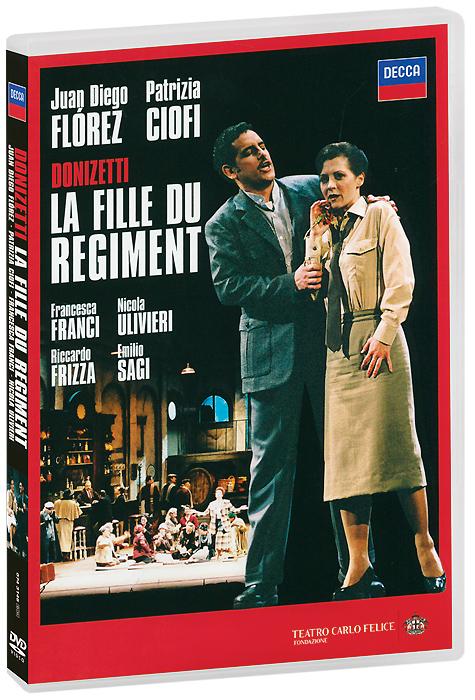 Фото Donizetti, Juan Diego Florez, Patrizia Ciofi: La Fille Du Regiment (2 DVD). Покупайте с доставкой по России