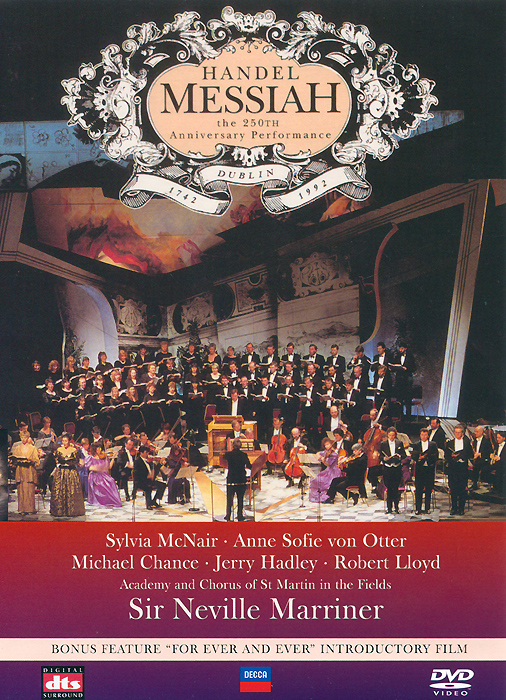 Handel, Sir Neville Marriner: Messiah - The 250th Anniversary Performance arte lamp люстра artelamp a3579lm 3ab