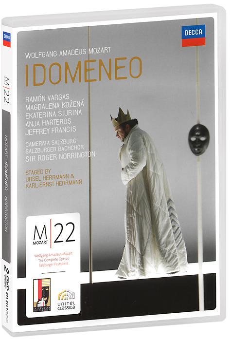Фото Mozart, Sir Roger Norrington: Idomeneo (2 DVD). Покупайте с доставкой по России