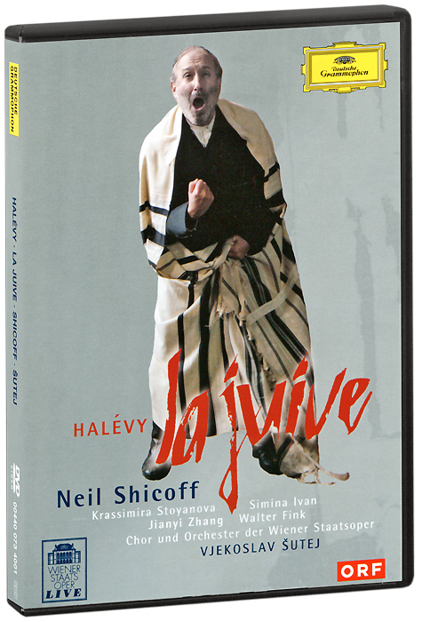 Halevy, Neil Shicoff, Vjekoslav Sutej: La Juive (2 DVD) neil h neil h secret of faeries