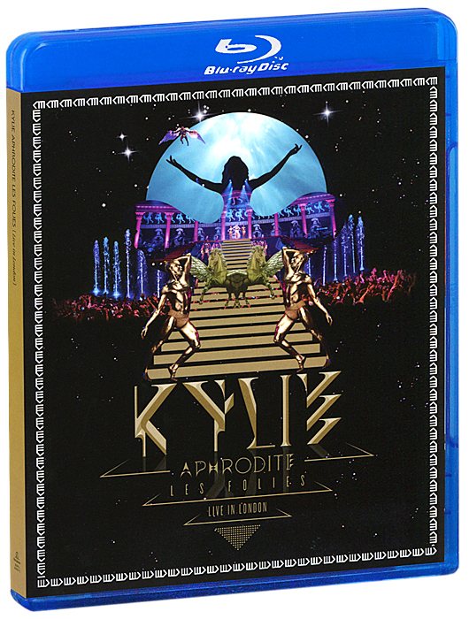 Kylie Minogue:  Aphrodite:  Les Folies - Live In London In 2D And 3D (2 Blu-ray) Blink TV,Darenote,Parlophone