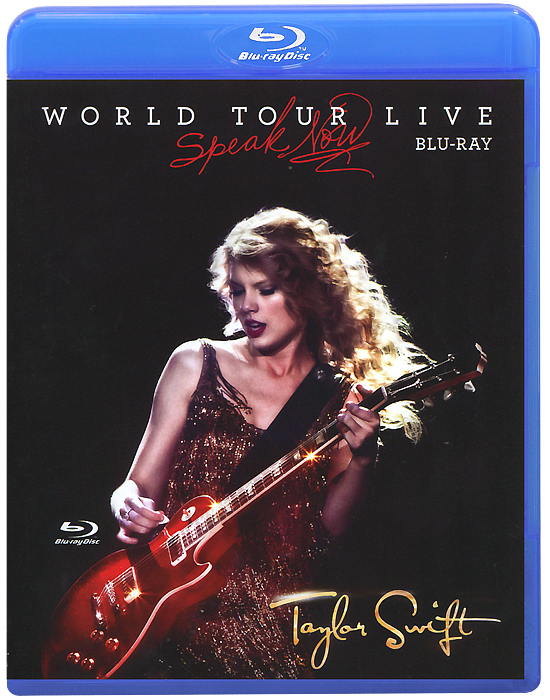 Taylor Swift: Speak Now: World Tour Live (Blu-ray) katy perry the prismatic world tour live